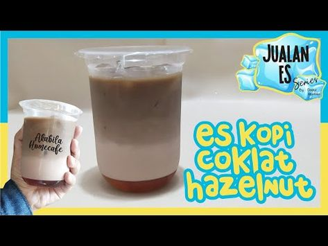 Es Kopi Coklat Hazelnut Jualan Es The Series Ep5 Youtube Es Kopi Resep Minuman Kopi Resep Kopi