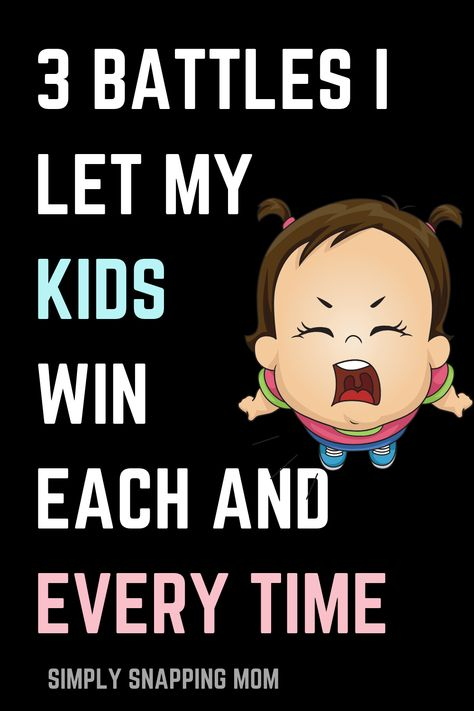 How to Pick Battles with Kids and Toddlers