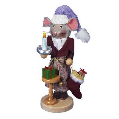 Kurt Adler Steinbach The Night Before Christmas Mouse Nutcracker
