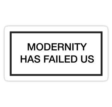 The 1975 Modernity Has Failed Us Sticker By Literalchar In 2020 The 1975 Iphone Case Stickers The 1975 Tattoos