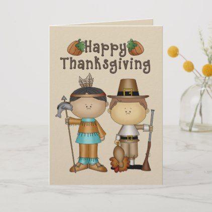 Pilgrim Shirt Card Happy Thanksgiving Card Happy Thanksgiving Day Card Pilgrim Thanksgiving Day Card Pilgrims Thanksgiving