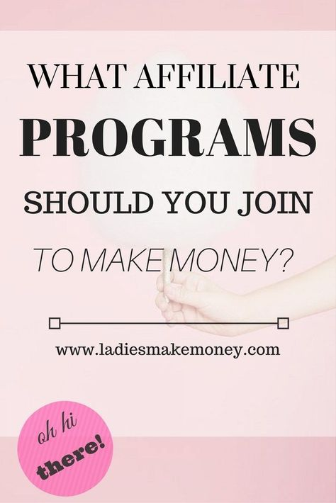 Earn Money Online What Affiliate Programs should you join to make Money? Want to start making money with affiliates? Consider joining these programs. Here's Your Opportunity To CLONE My Entire Proven Internet Business System Today!