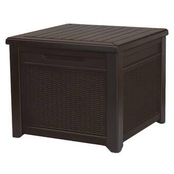 Java 230 Gallon Resin Deck Box In 2020 Large Cushions Storage