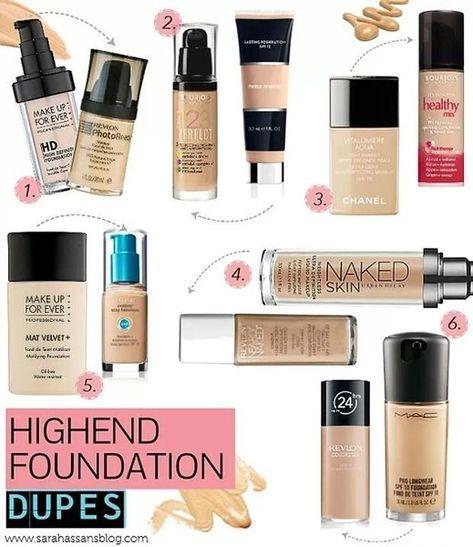 High End Foundation Dupes! | Beautylish