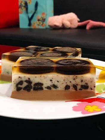 Resep Puding Lapis Oreo Milo Oleh Joni Kho Resep Makanan Ide Makanan Makanan Minuman