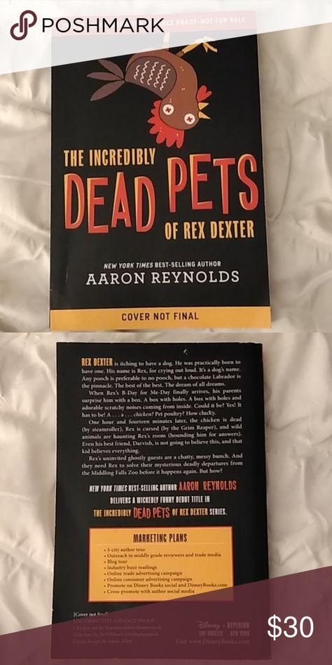 New York Best Sellers 2020.Unreleased Incredibly Dead Pets Of Rex Dexter New