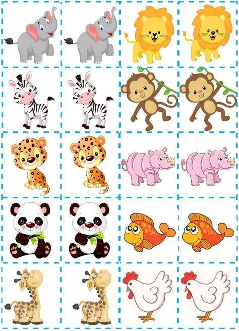 40 Jogos Da Memoria Para Imprimir Educacao Infantil E Maternal Online Cursos Gratuitos Projeto Animais Educacao Infantil Educacao Infantil Brincadeiras Educacao Infantil