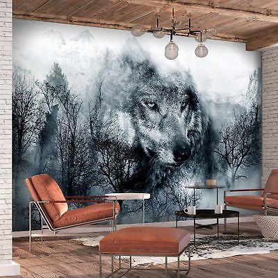 Tapete selbstklebend Weißer Tiger Fototapete Vliestapete Wandbild