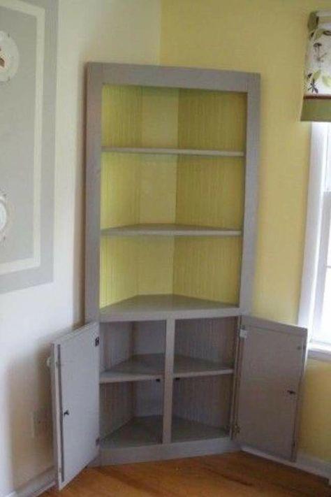 Farmhouse Dining Room, Corner Storage Cabinet For Living Room