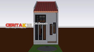 Desain Rumah Minimalis Sederhana 3x6 Rumah Minimalis Rumah Desain Rumah Minimalis