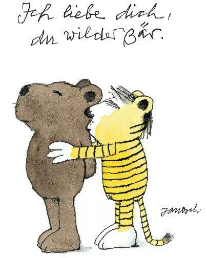 Fabulous Gl ckw nsche Janosch Tiger B r und Tigerente Janosch Quotes Spruchbilder Pinterest Happy birthday