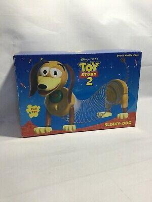 Toy Story 2 1999 Slinky Dog Pull Toy Vintage Disney Pixar James