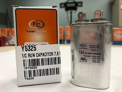 Lennox Run Capacitor Cat Y5325 7 5 Mfd 440 Volt Universal Fan Motor Capacitor Ebay In 2020 Capacitors Kw1 Fan Motor