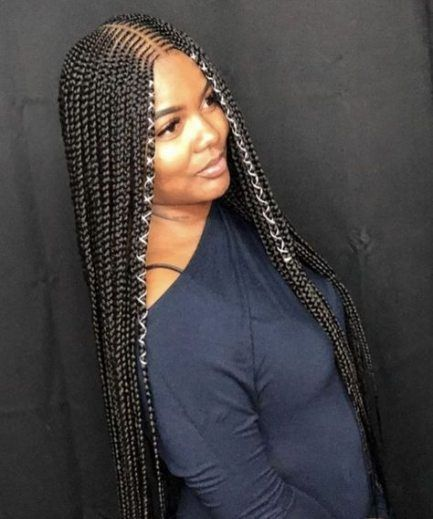 New Braids With Weave Hairstyles African Americans 65 Ideas Braided Hairstyles Braids With Weave Natural Hair Styles