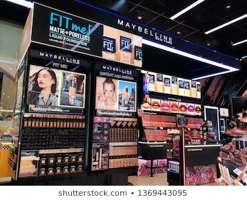 Bangkok Thailand Apr 5 2019 Maybelline Cosmetics Store In Icon Siam Mall Maybelline Is A Major American Make Cosmetic Store Maybelline Cosmetic Companies