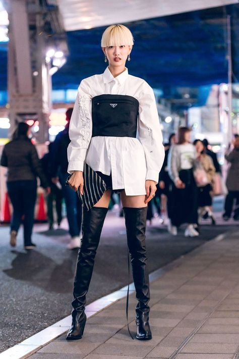 The Best Street Style From Tokyo Fashion Week Fall 2019 - Vogue