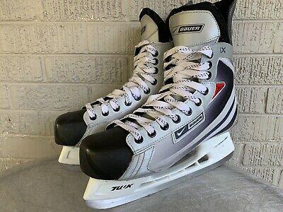 Advertisement Ebay Bauer Vapor Ix Hockey Skates Mens Size 10 Tuuk Lightspeed Pro Blades Skates For Sale Roller Hockey Skates Skate