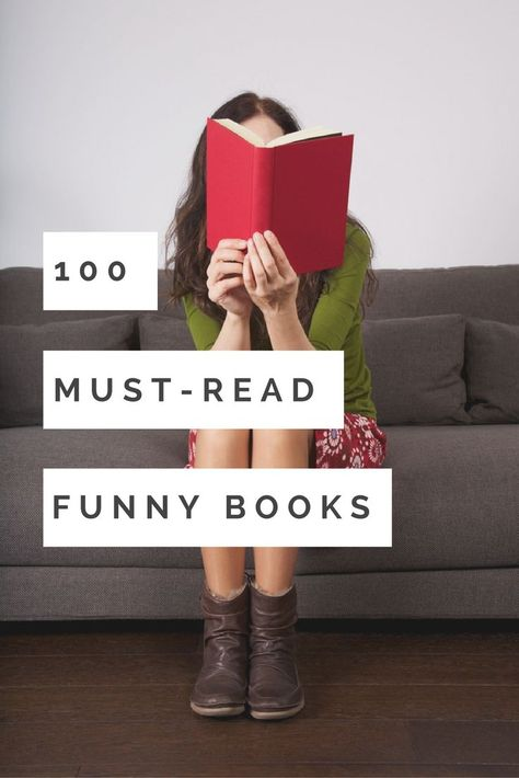 100 Must-Read Hilarious Books