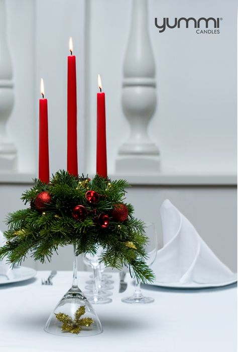 The 12 Days of Christmas! A New 24 hour promo revealed everyday until Christmas! Day 4 15% OFF All Taper Candles Use promo code: DOC4 at checkout. Shop Now at www.YummiCandles.com