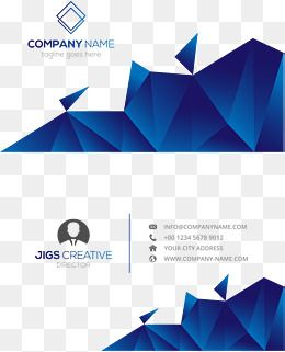 Navy Blue Low Polygon Business Card Template Vector Png Royal Blue Low Polygon Png Transparent Clipart Image And Psd File For Free Download Free Printable Business Cards Business Cards Creative Blue