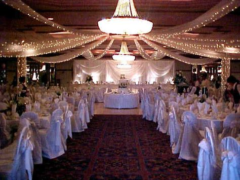 Wedding Hall Ceilings