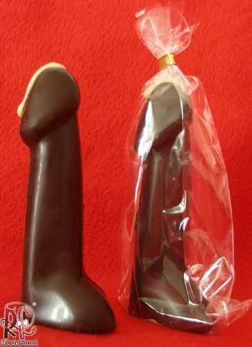 penis shaped chocolate