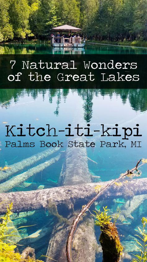 7 Natural Wonders Of The Great Lakes Michigan Vacations, Michigan Travel, Traverse City Michigan, Lakes In Michigan, Michigan State Parks, Northern Michigan, Lake Michigan, Wisconsin, Places To Travel