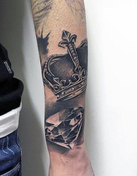 67 Most Powerful Crown Tattoos Fur Manner Tattoos For Guys Badass Tattoos For Guys Crown Tattoo Men