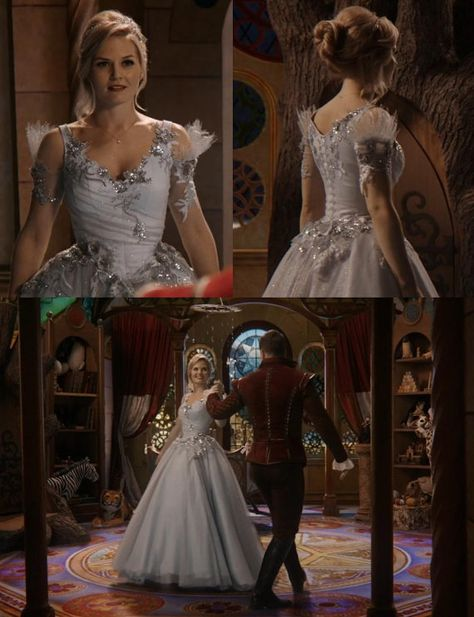 Once Upon A Time Emma Dream Sequence. Her dress is gorgeous!