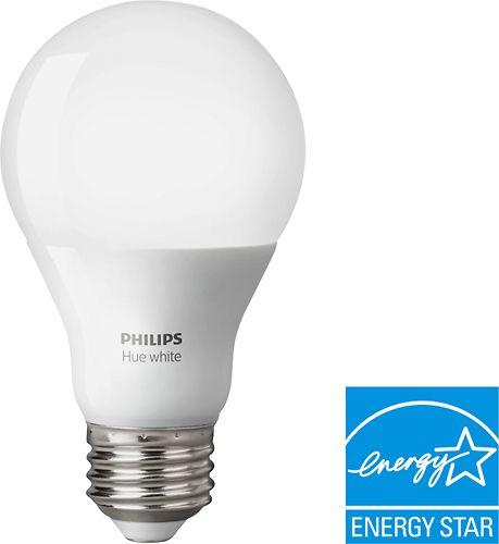 Best Buy Philips 800 Lumen 8 5w A19 Led Light Bulb 60w Equivalent 4 Pack White 461129 Hue Philips Bulb Led Bulb