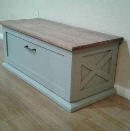 53 Trendy Ideas For Diy Bedroom Bench Storage Hope Chest Diy