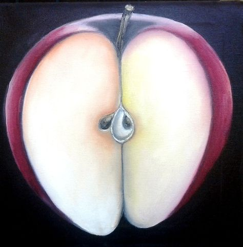 "For Sale: ""Tempt"" by angela  | $250 | 12""w x 12""h | Original Art | http://www.vangoart.co/buy/art/tempt @Vango"