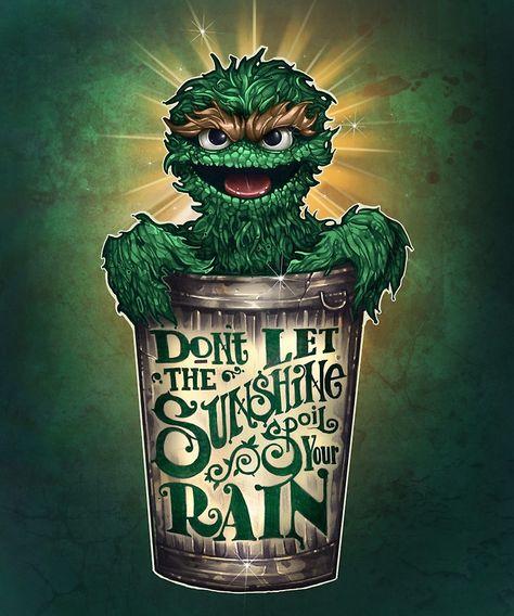'Don't Let The Sunshine Spoil Your Rain' Art Print by Tim Shumate Art Prints, Tim Shumate, Tim Shumate Illustrations, Rain Art, Fantasy Art, Cute Art, Shumate, Art, Cartoon Art