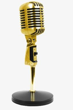 Cool Microphone Cool Golden Microphone Png Image And Clipart Hip Hop Artists Cool Stencils Microphone