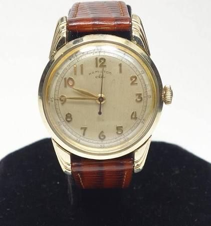 Wwii 10k Gold Filled Hamilton Watch Google Search Hamilton Watch Watches 10k Gold