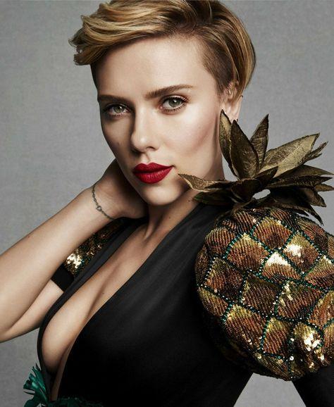 Scarlett johansson сексуальная