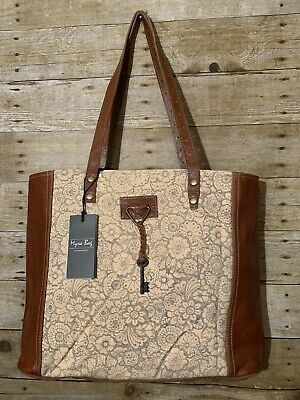 New Myra Bag Madame Key Canvas Tote Leather Shoulder Bag Make Offer Ebay In 2020 Leather Shoulder Bag Bags Leather Every bag is truly handcrafted with spirit of vintage pinterest