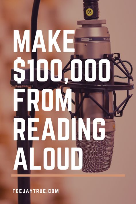 Make $100,000 from Reading Aloud - Generational Wealth Now
