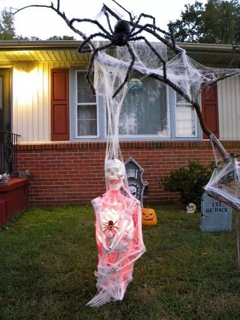 33 Crafty Diy Outdoor Halloween Decorating Ideas Halloween