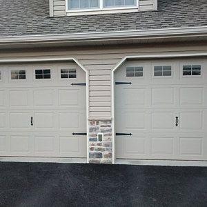 Craftsman Style Faux Garage Door Windows Vinyl Decals No Etsy Garage Door Design Garage Doors Garage Door Styles
