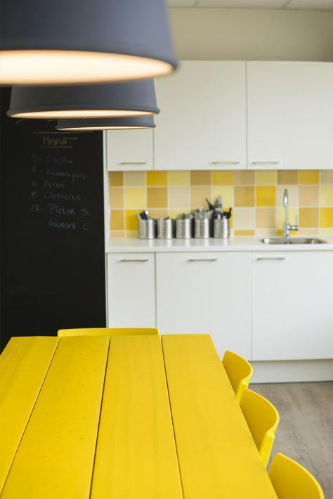 kitchen Office ERM Antwerp, Belgium by WIES   bureau voor ruimtelijk ontwerp…
