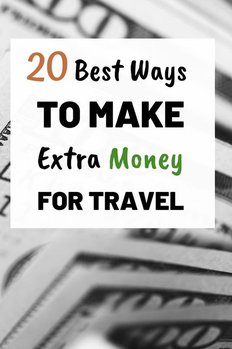 How To Make Money For Travel
