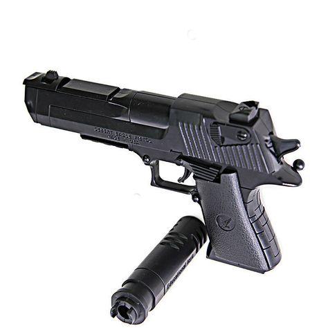DIY Desert Eagle Gun Beretta and Gunsight Assembly Toy Gun with Instruction Book