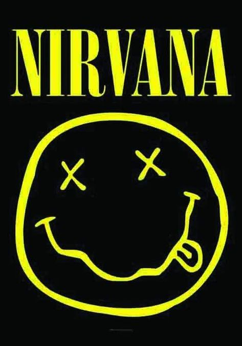 Nirvana - Smiley Face - Small Tapestry