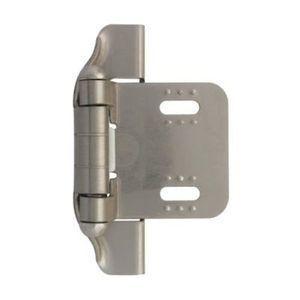 Brainerd C31737V-NP Soft Close Cabinet Damper Chrome Finish 25 Pack