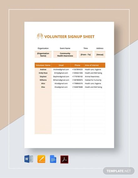 A Sheet Template You Can Use During Your Events For People To Sign In On This Is Well Formatted And Print Sign In Sheet Template Sign Up Sheets Sign In Sheet