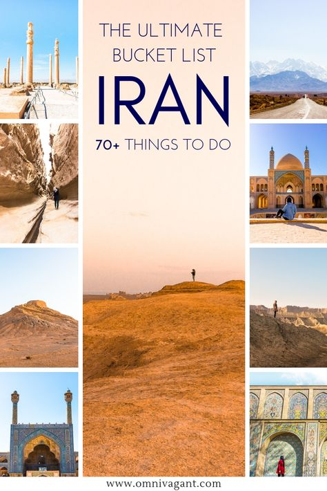 The Ultimate Iran Bucket List: 70+ Things to do in Iran