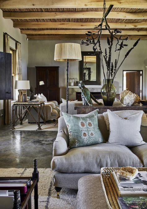African Farmhouse Gregory Mellor Design African Living Rooms