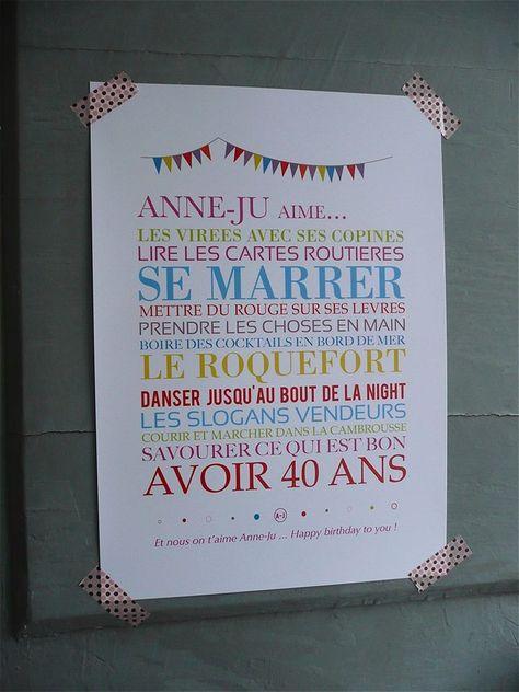 Épinglé par Caroline Etienne sur Origami | Idee anniversaire 40 ans, Anniversaire 40 ans et ...