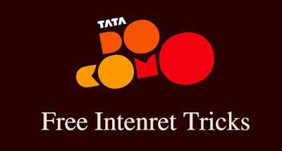 Tata Docomo FREE 1GB 3G Internet Data Offer trick for 9-10